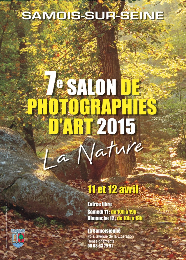 Affiche expo Samois 2015 A-1